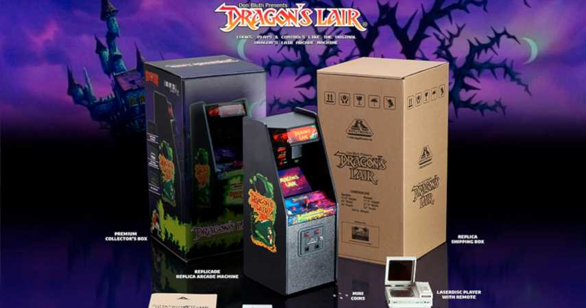Dragon's Lair Replicade Review: A Flawless Replica Of An Incredible Game