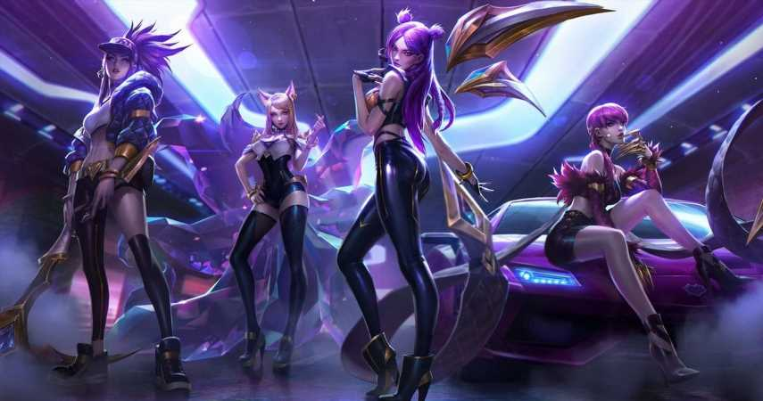 League of Legends Music Group K/DA Releases All Out EP