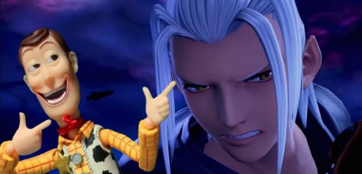Remember When Woody From Toy Story Absolutely Roasted Xehanhort In Kingdom Hearts 3?