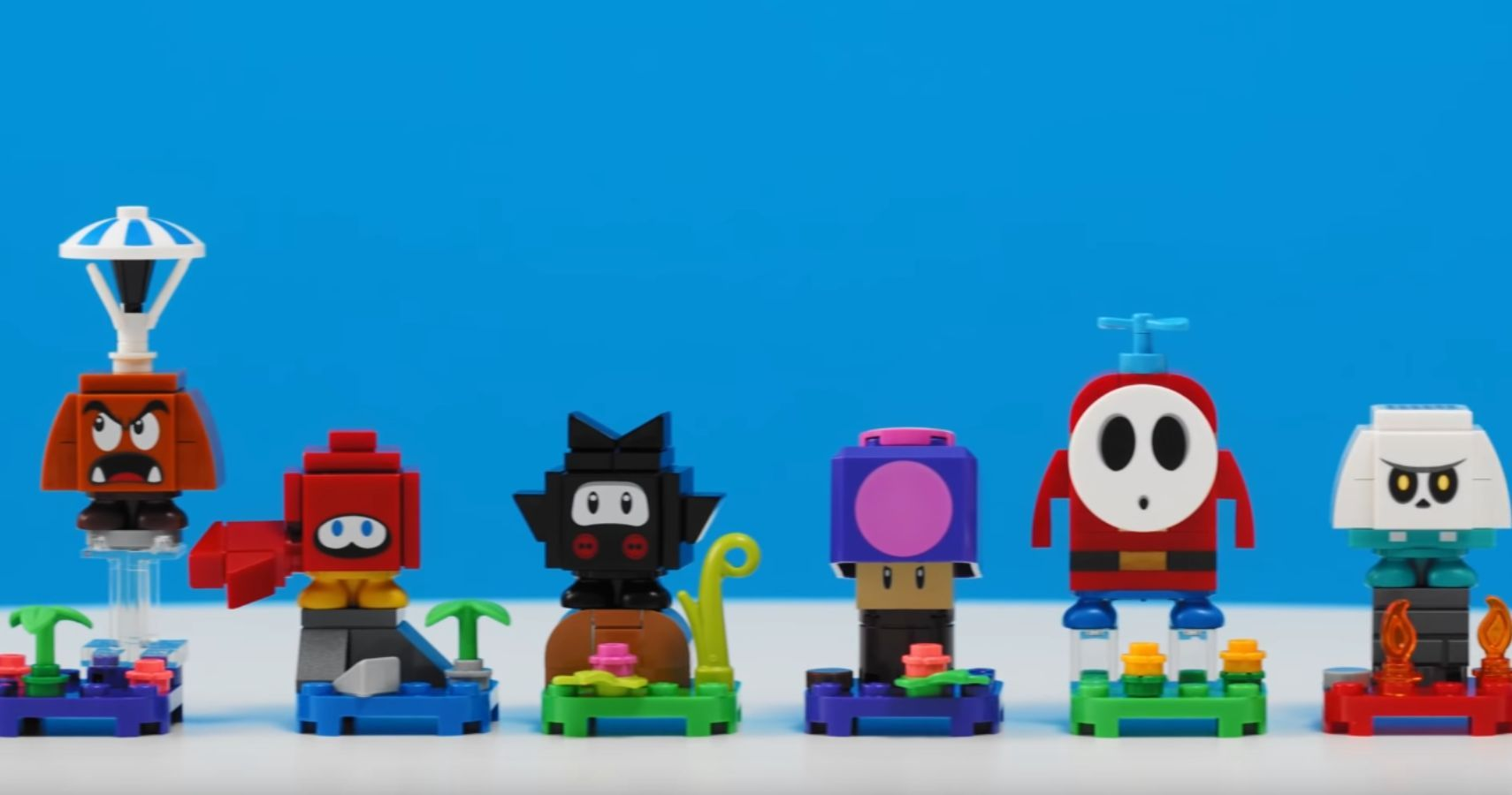 Lego Debuts Super Mario Series 2 Expansion Sets, Including Shy Guy, Chain Chomps, and Tanooki Mario
