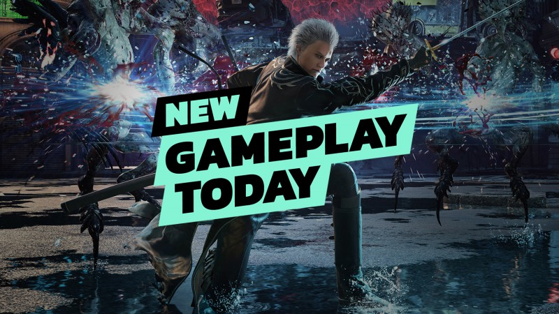 New Gameplay Today – Devil May Cry 5: Special Edition On PlayStation 5