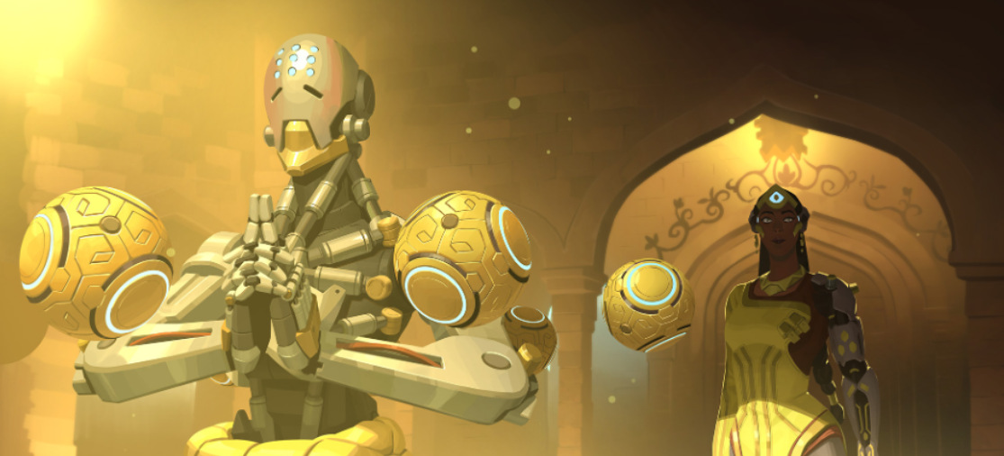 Overwatch releases 'Stone By Stone' story, focusing on Symmetra and Zenyatta