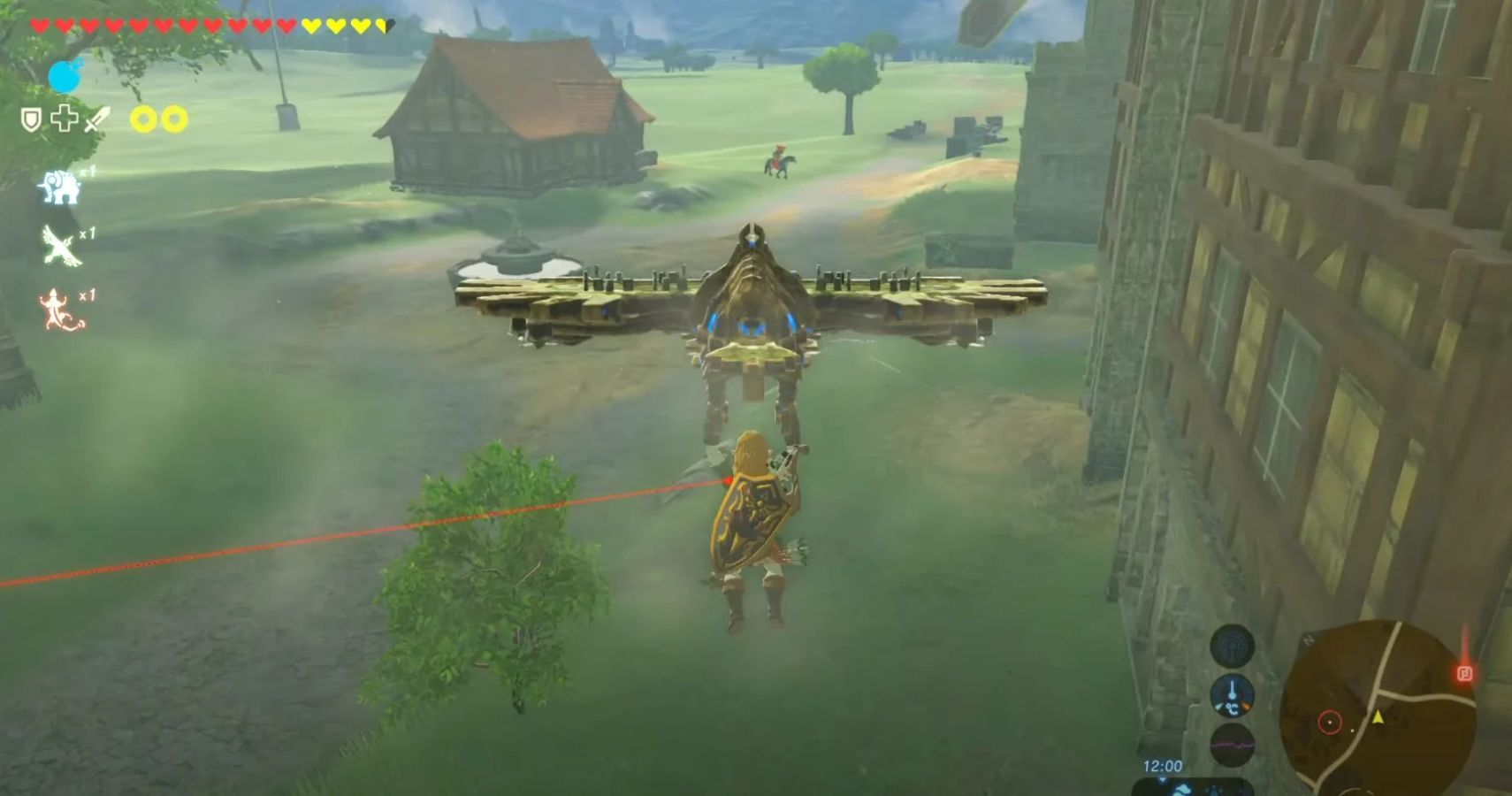 Modder Rebuilds Hyrule In Breath of the Wild Using Age Of Calamity Buildings