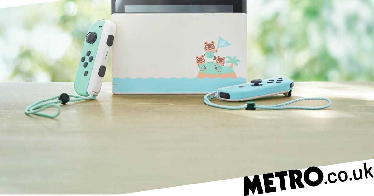 Limited edition Animal Crossing Nintendo Switch is back in stock in the UK