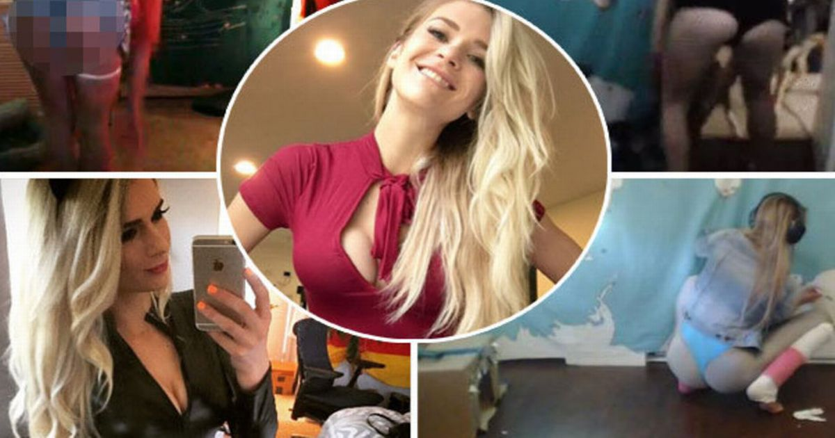 Hot gamer girl who 'flashed her vagina' on Twitch has history of naughty on-cam incidents