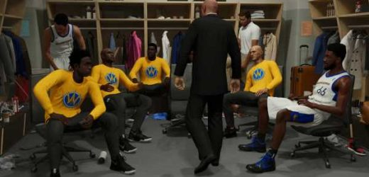 NBA 2K21's next-gen career mode is a rollicking reunion of fictitious stars