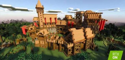 You can now play Minecraft with ray-traced graphics
