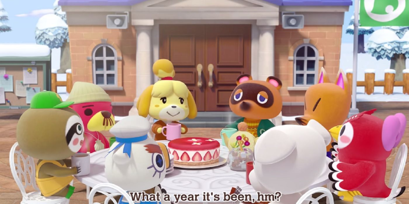 Animal Crossing: New Horizons' Isabelle, Tom Nook And Co. Look Back Over 2020 In Short-Yet-Adorable Holiday Video