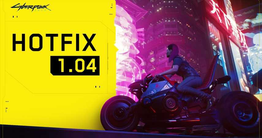 """Cyberpunk 2077 Hotfix 1.04 Now Live On PlayStation And PC (Xbox Update """"Out As Soon As Possible"""")"""