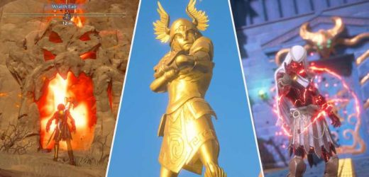 Immortals Fenyx Rising: All Wraith Lair Locations & How To Get The Armor Of Bright Divinity