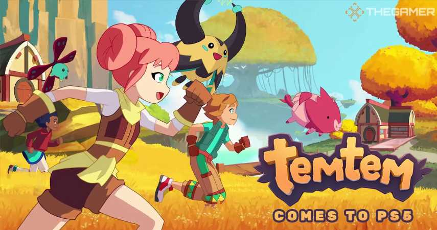 Temtem Comes To PS5 Next Week