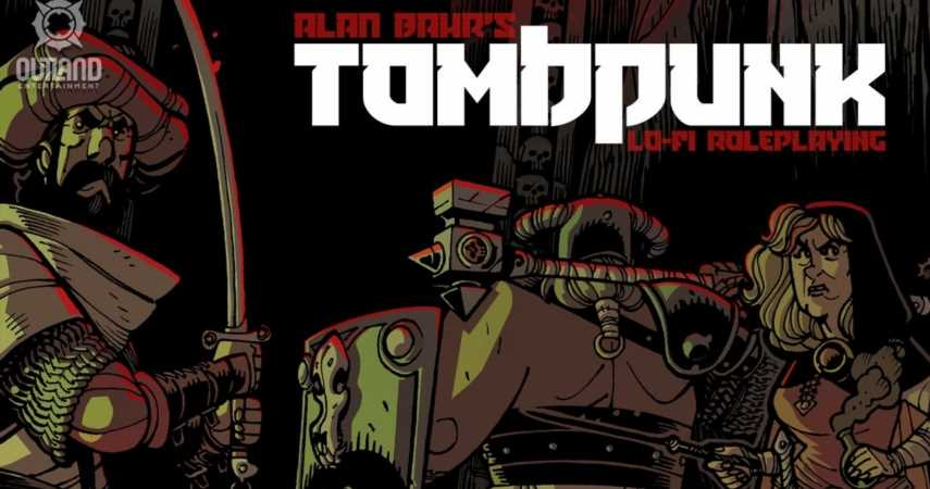 """Classically Inspired"" Tombpunk Lo-Fi Roleplaying Introduced In Kickstarter Campaign"