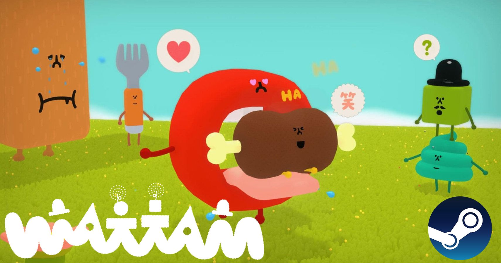 Wattam, The Latest Game From Katamari Damacy's Creator, Comes To Steam On December 18