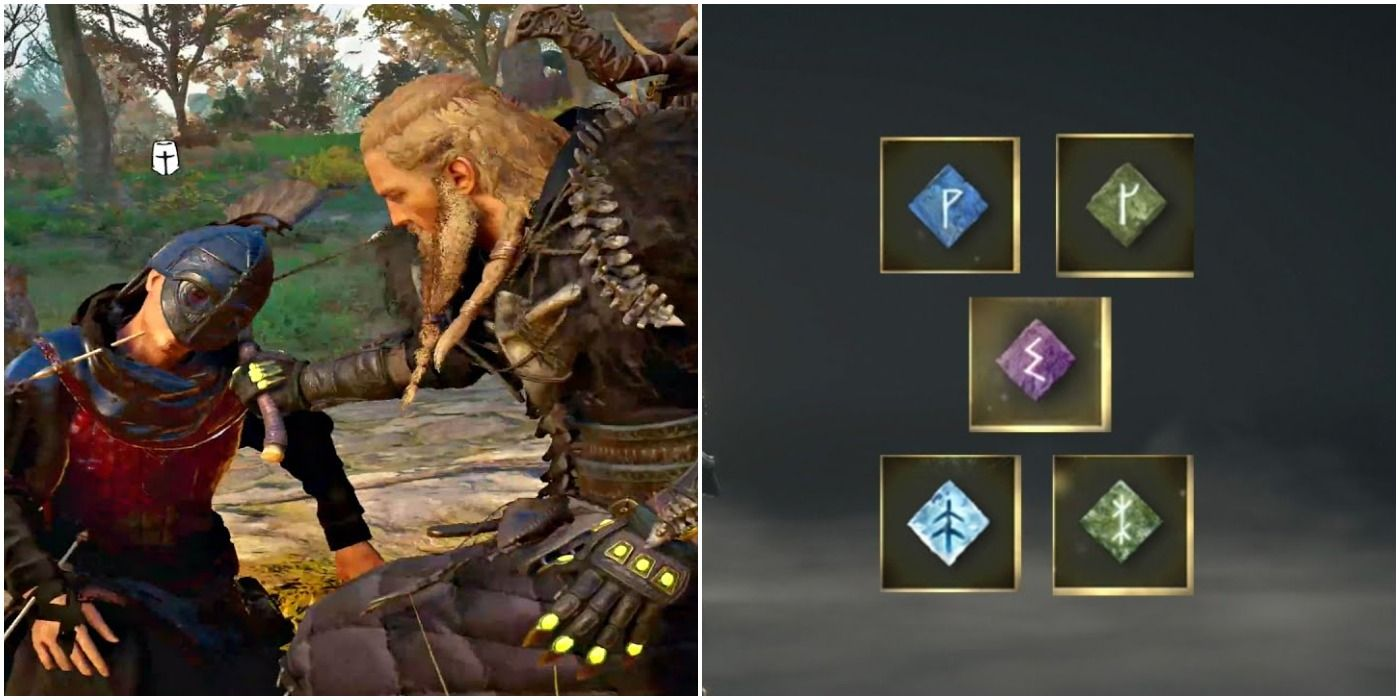 Assassin's Creed Valhalla: How To Acquire Diamond-Shaped Runes