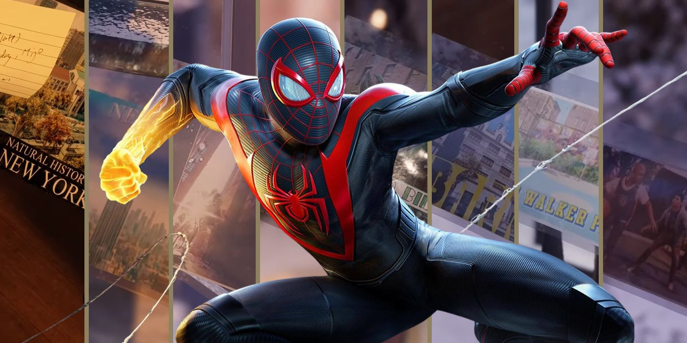 Where To Find All Of The Postcards In Spider-Man: Miles Morales