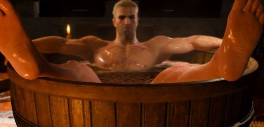 Someone Made Braindances For Skyrim And The Witcher 3 In Cyberpunk 2077