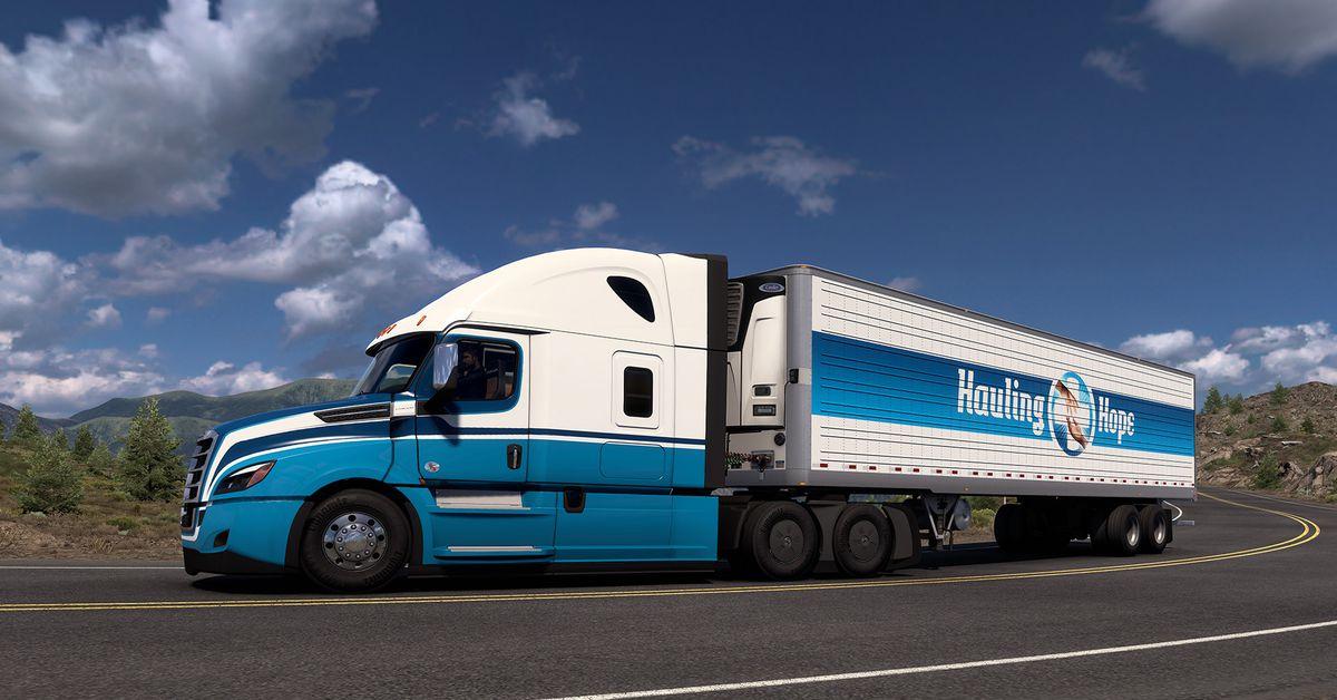 Truck Simulator event invites players to deliver COVID-19 vaccines