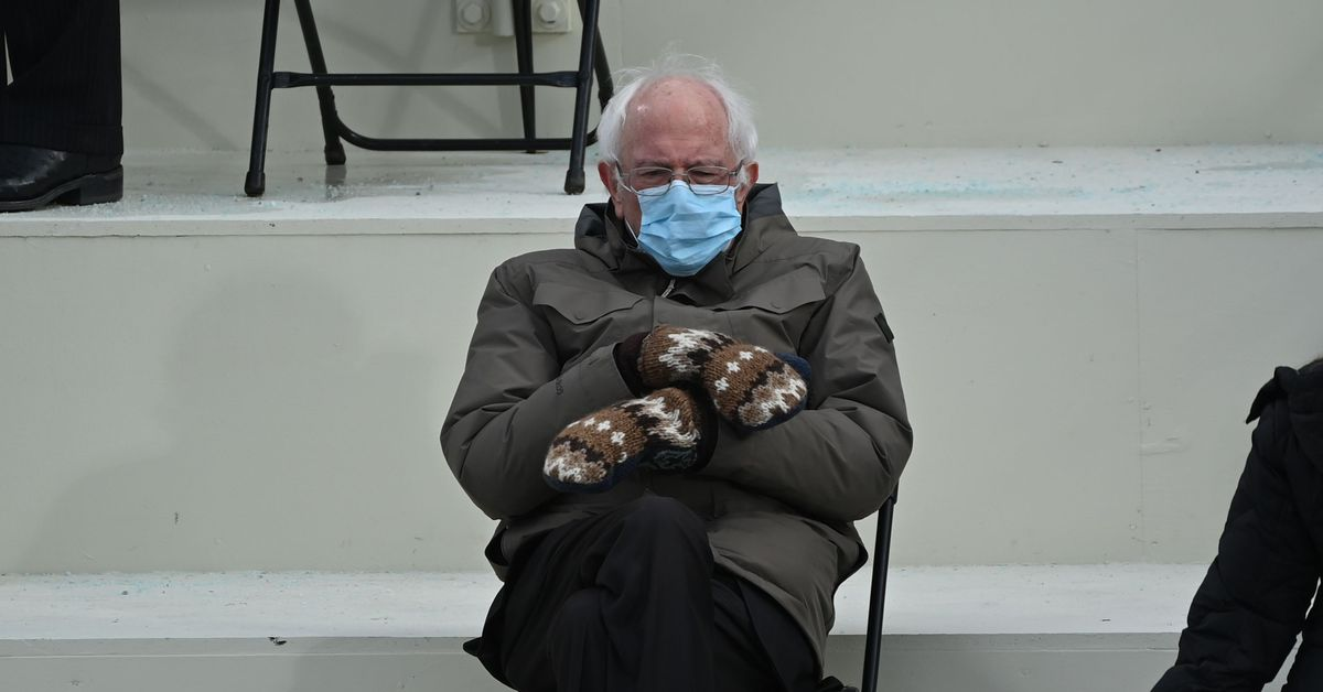 Bernie Sanders' mittens are now an extremely powerful magic item in D&D