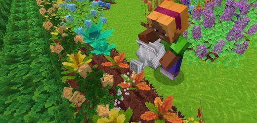 New Minecraft Mod Lets You Grow A Pretty Garden