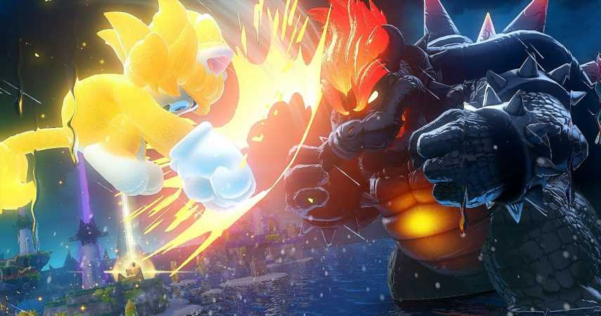 Nintendo Shares Screenshots From Super Mario 3D World's Bowser's Fury