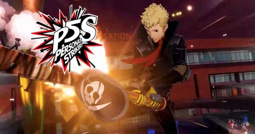 """Check Out The Latest """"All-Out-Action"""" Trailer For Persona 5 Strikers"""