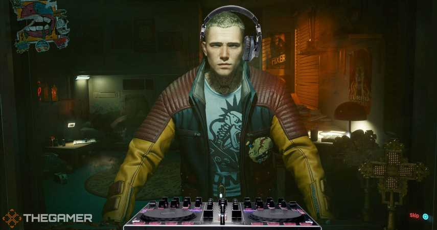 Cyberpunk 2077's V Is Secretly All The DJs On Night City's Radio Stations
