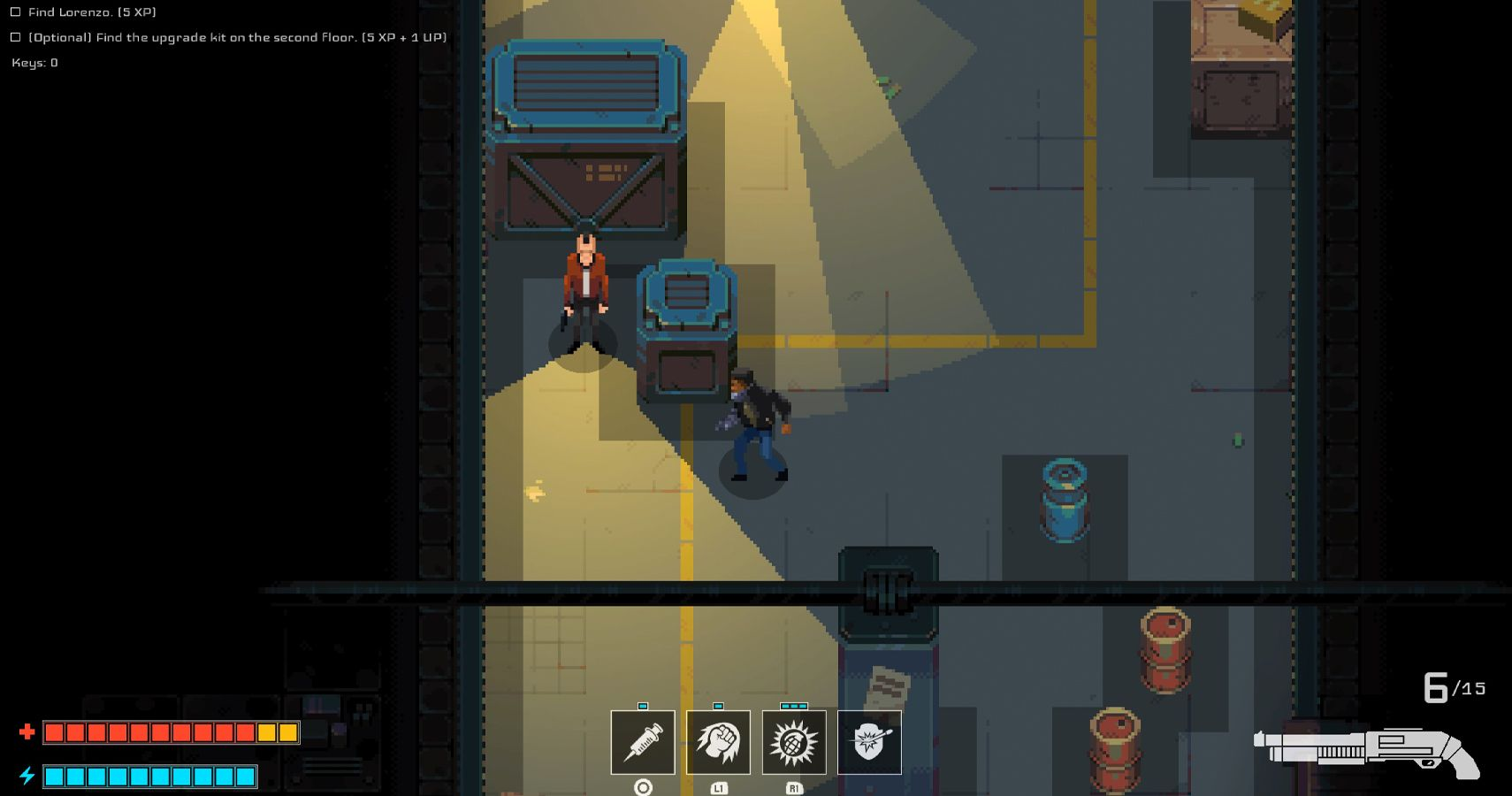 Disjunction Preview: Cyberpunk Meets Metal Gear Solid