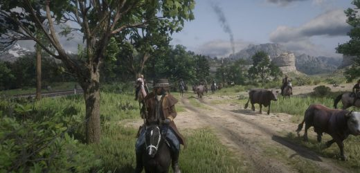 Red Dead Online fans' attempt to herd cattle nearly spiraled out of control