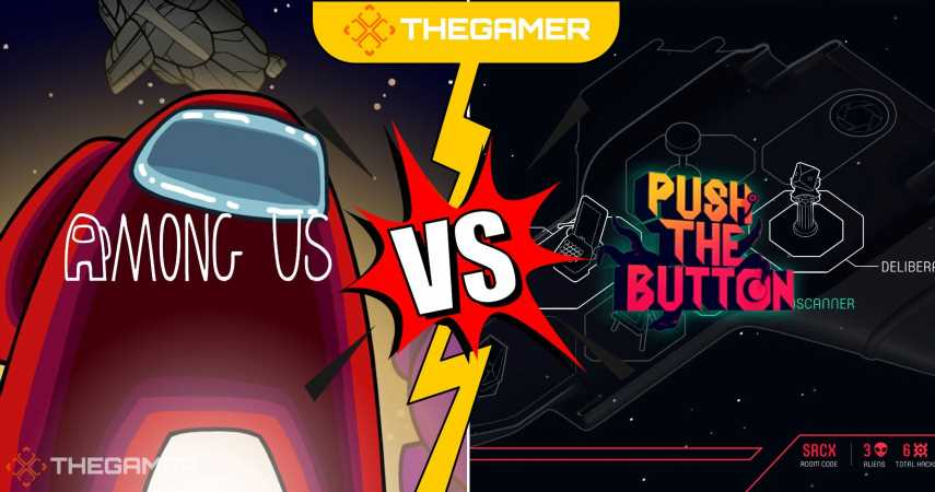 Fight Club: Among Us Vs. Push The Button