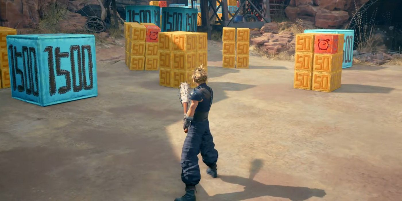 Final Fantasy VII Remake: How To Complete All Of The Whack-A-Box Challenges