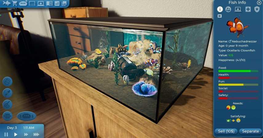 "Fishkeeper Is An Aquarium Sim That Is Basically ""Underwater Tamagotchi"""
