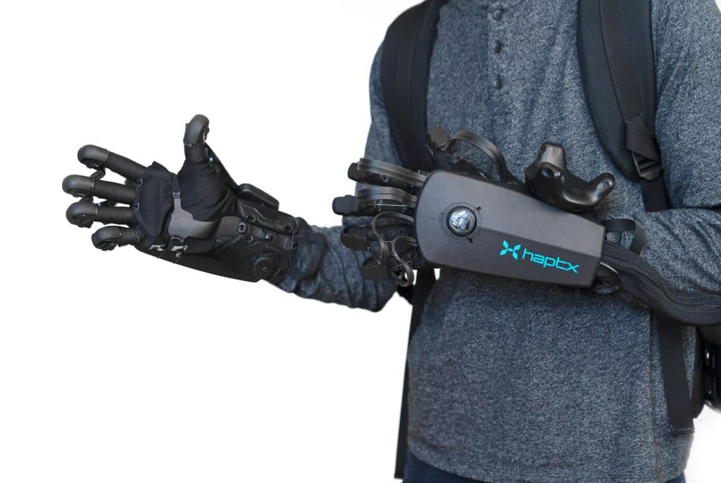 HaptX Gloves DK2 Get Big Upgrade With Backpack Power