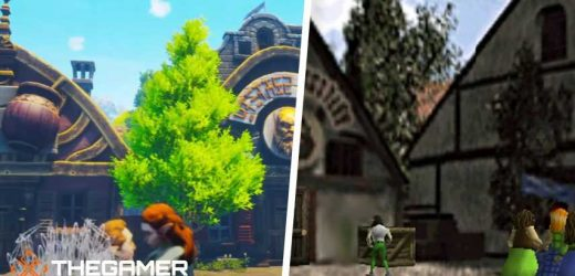 Someone Remade Ocarina Of Time's Castle Town In Unreal Engine 4, Full Build Coming Later This Week