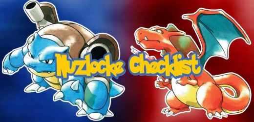 Pokemon Red & Blue Nuzlocke Checklist Guide