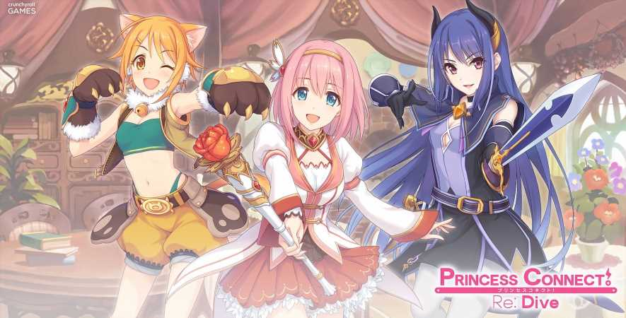 Free Anime Game Princess Connect! Re: Dive Launches Globally