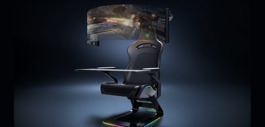 Razer's New Gamer Chair Looks Straight Out Of Sci-Fi