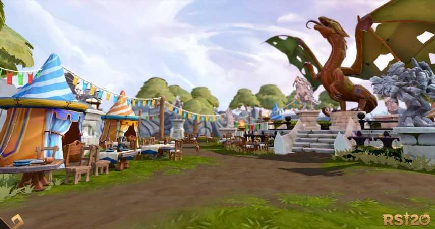 RuneScape Celebrates 20th Anniversary With Massive Grand Party Event