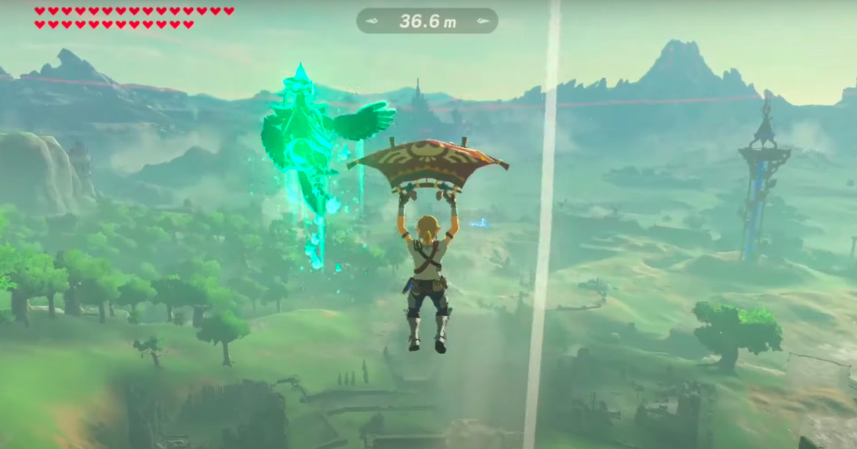 Breath of the Wild trick shot defies the laws of physics and understanding