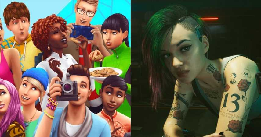 Someone Recreated Judy, Panam, Evelyn, And Other Cyberpunk 2077 NPCs In The Sims 4