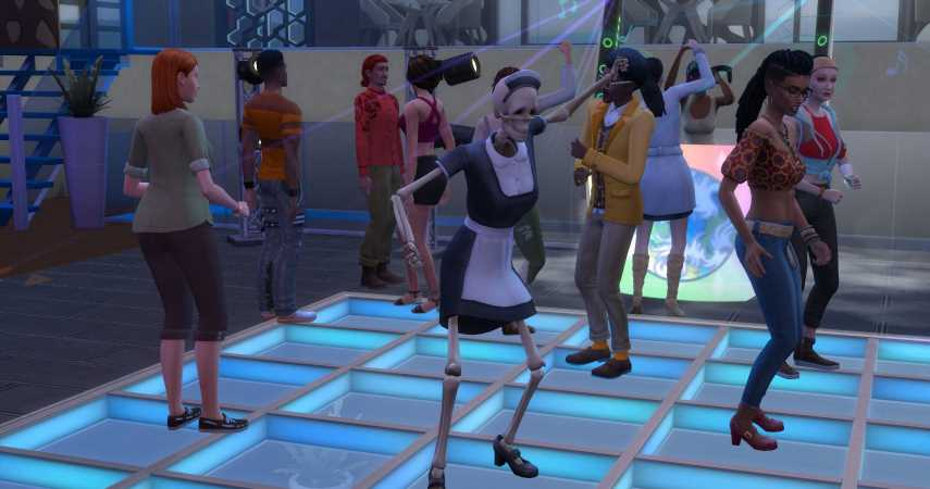 The Sims 4 Paranormal Stuff: How To Summon Bonehilda And What She'll Do