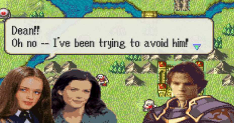 Gilmore Girls Modded Into Fire Emblem: The Sacred Stones
