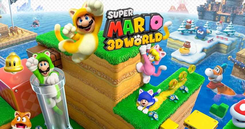 Nintendo Unveils New Super Mario 3D World Themed Switch For February