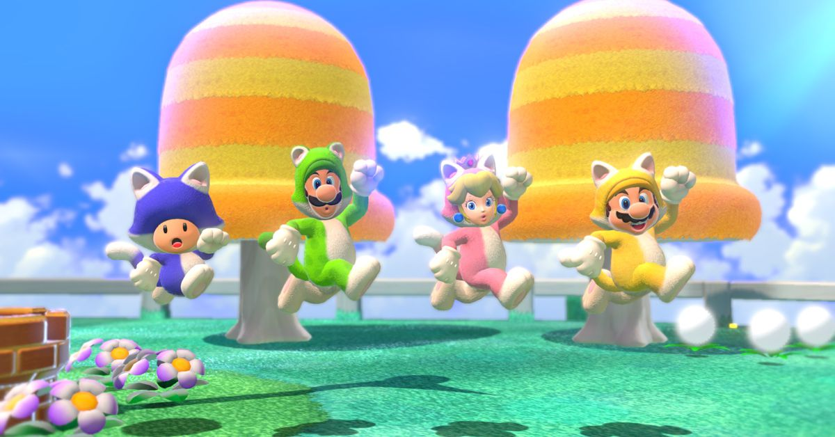 Super Mario 3D World on Switch will add online play, photo mode
