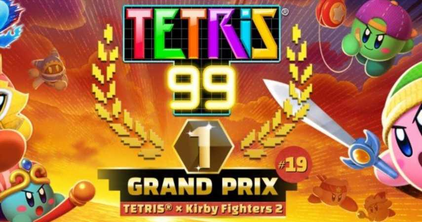 Tetris 99's Next Event Has A Kirby Fighters 2 Theme