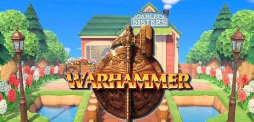 Warhammer Design Codes In Animal Crossing: New Horizons