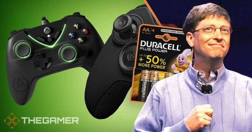 Reports Of Xbox Controllers Using Batteries Because Of Microsoft And Duracell Deal Are False