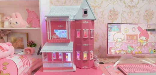 YouTuber Shares Impressive Custom Doll House PC
