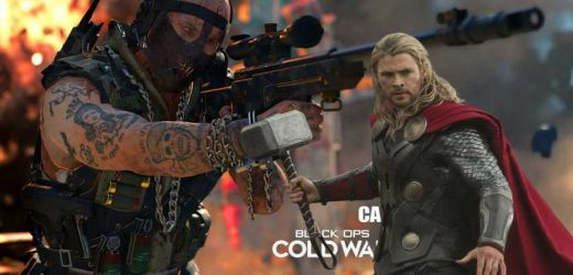 Black Ops Cold War Players Can Now Wield Thor's Hammer