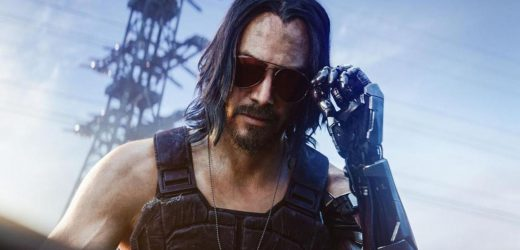 Here's What Cyberpunk's Johnny Silverhand Looked Like Before He Was Keanu Reeves