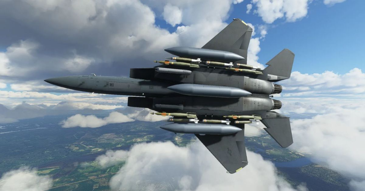 You can buy an F-15 for Microsoft Flight Simulator this month, here's a first look